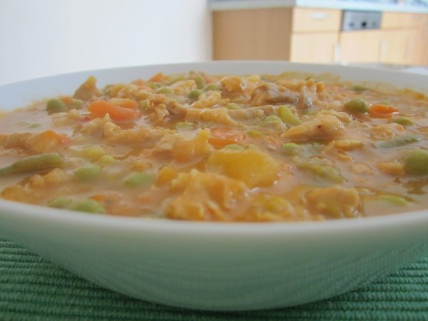 Gemüsesuppe nach Mutters Art