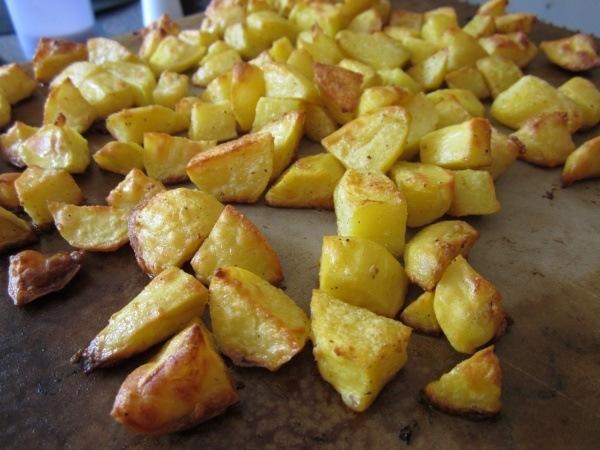 Ofenkartoffeln vom Stein