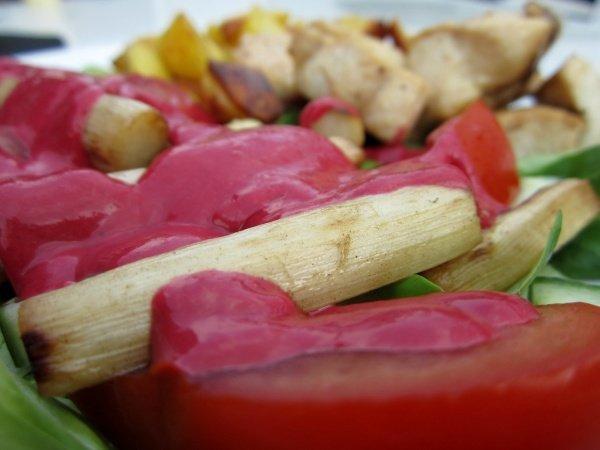 Fruchtiges Salatdressing