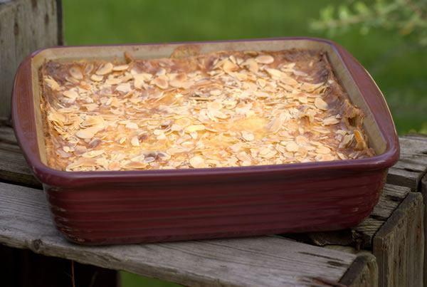 apfelkuchen in der ofenhexe